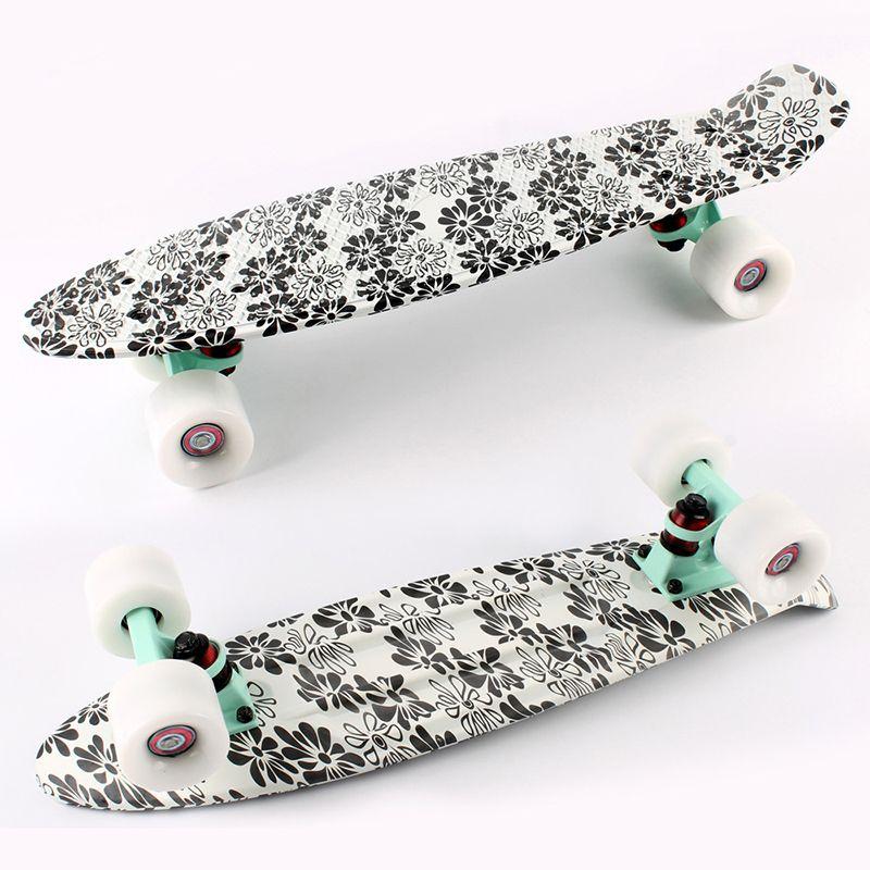 """Skate Board Black Cruiser Original Peny Board 22"""" Pnny Skateboard board tablas de skate board loaded skateboarding complete"""