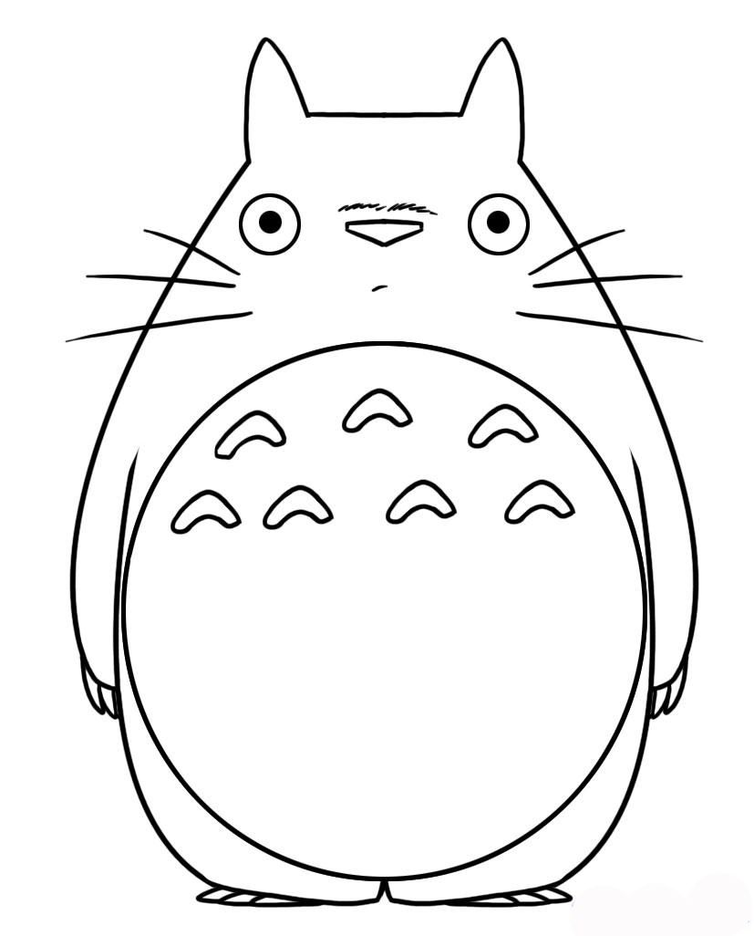 totoro pillow ( a0) | sewing patterns | Pinterest ...