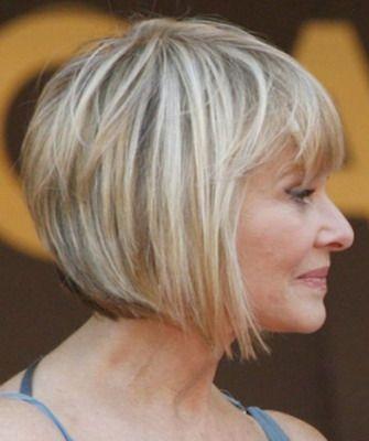 короткие стрижки на редкие волосы для женщин за 50