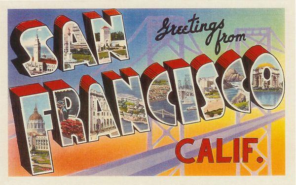 San francisco vintage postcard font typophile maybe we can print san francisco vintage postcard font typophile maybe we can print this image and m4hsunfo