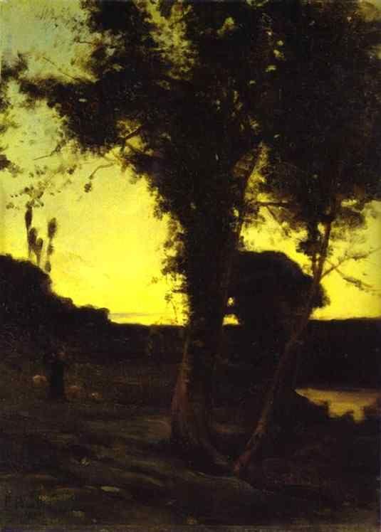 Landscape Paysage / Francis Picabia,  1898