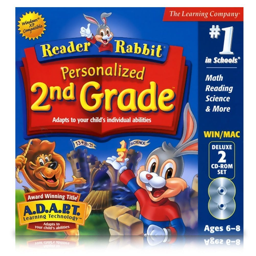 Reader Rabbit Personalized 2nd Grade Deluxe The learning