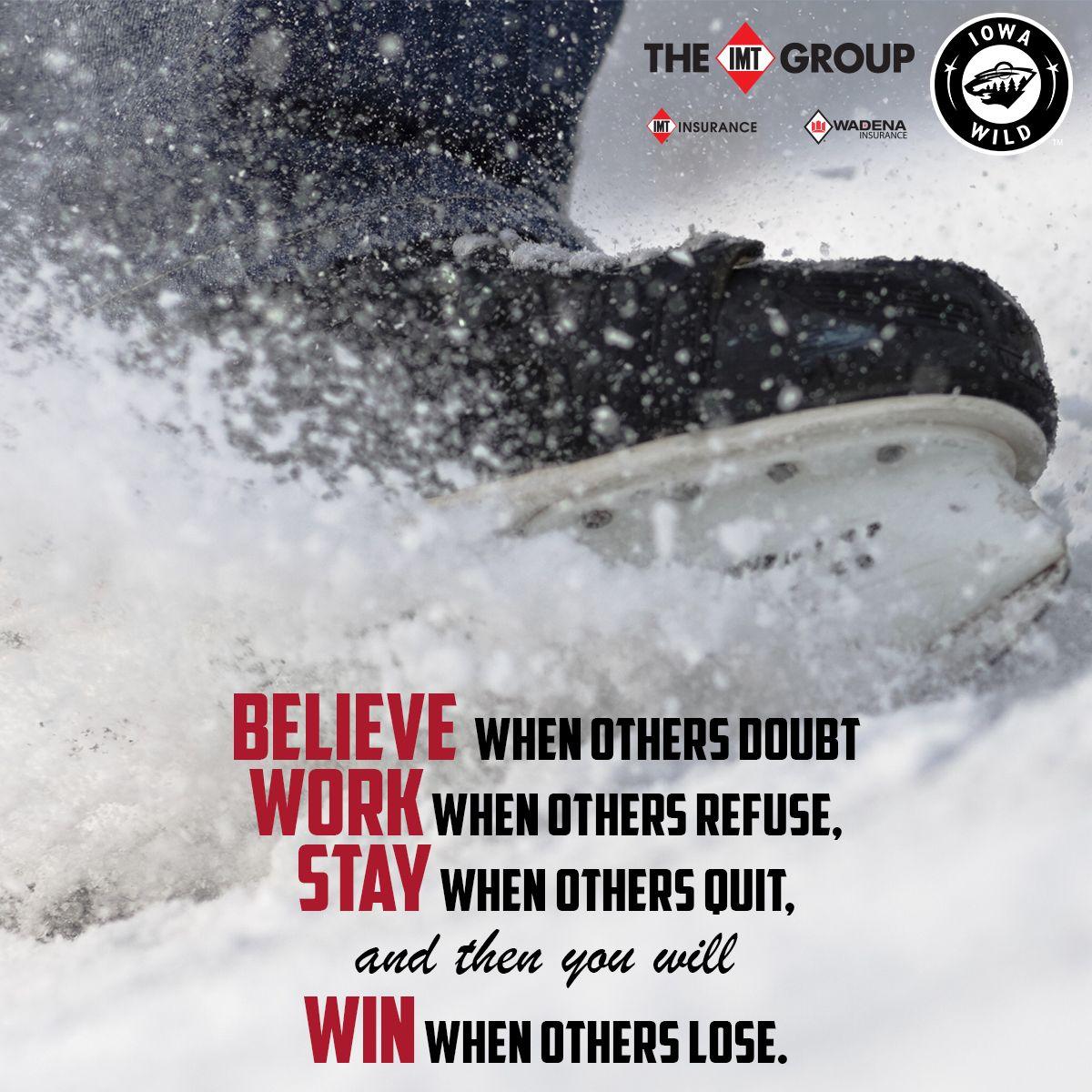 Iawild Quote Motivation Hockey Ice Hockey Quotes