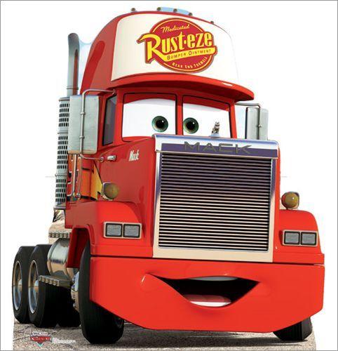 Mack Truck Pixar Sticker Imagenes De Cars Cumpleanos De Motivo De Disney Cars Camiones Mack