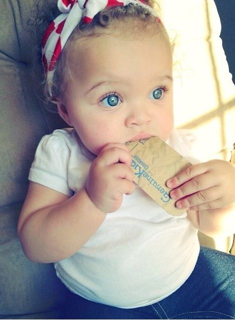 Cute Mexican Baby Blue Eyes Http Mixed 2 Perfection Tumblr Com