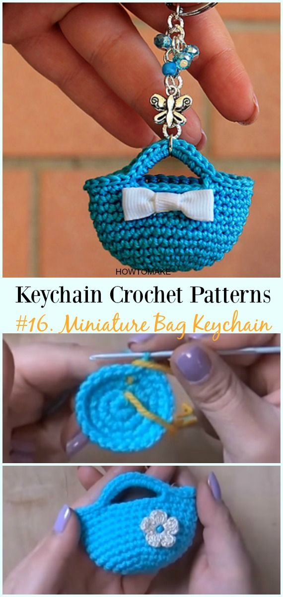 Cute and Fun Keychain Crochet Patterns Free | ::: CROCHET ...
