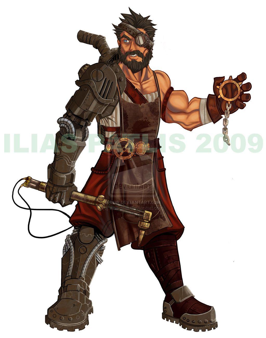 steampunk characters male - Google Search | digital ...  steampunk chara...