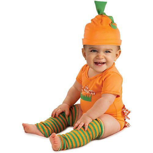 Pumpkin Halloween Costume - Infant Size 6-9 Months Halloween - halloween costume ideas for infants