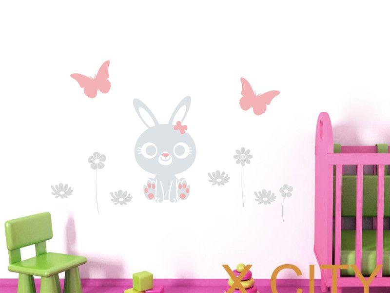 Wandtattoo Kinderzimmer | Hase NR 160 | Babies