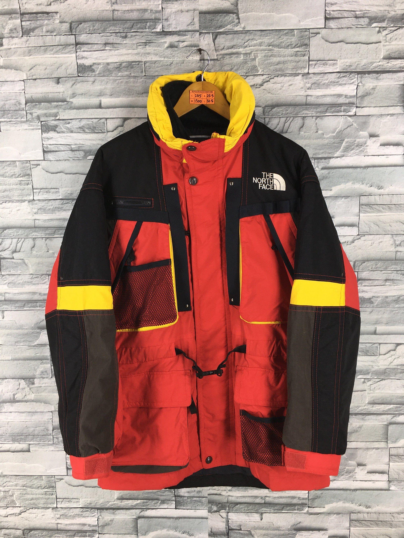 Vintage The North Face Jacket Large North Face Ski Wear Multicolour Jacket North Face Tnf Hoodie Skiing Hooded Jack North Face Jacket Jackets Unique Sweatshirt [ 3000 x 2250 Pixel ]