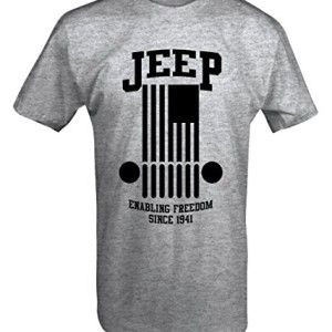 Jeep Enabling Freedom Since 1941 T Shirt Jeep Clothing Jeep Jeep Shirts