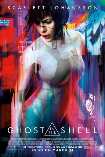 24x36 Ghost In The Shell Poster Ghost In The Shell Scarlett Johansson Ghost Movie Posters