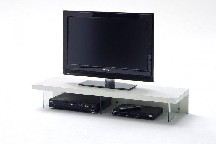 Weißes TV Aufsatzelement Velvet #weiß #möbel #tvmöbel #wohnzimmer - wohnzimmer tv möbel