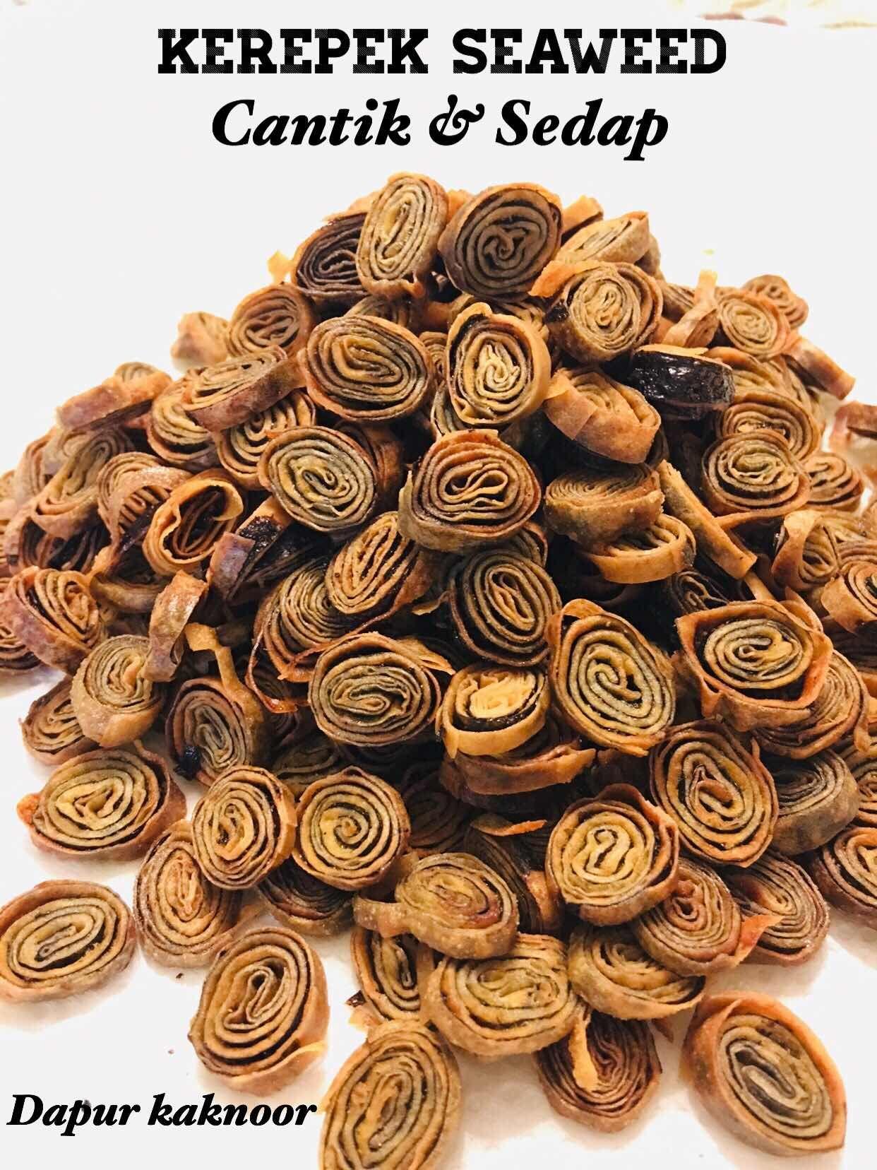 Kerepek Seaweed Paling Laris Dapur Kak Noor