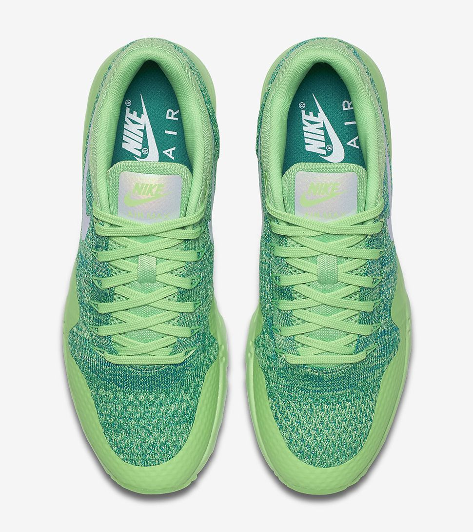 """Nike WMNS Air Max 1 Ultra Flyknit """"Voltage Green, Lucid"""