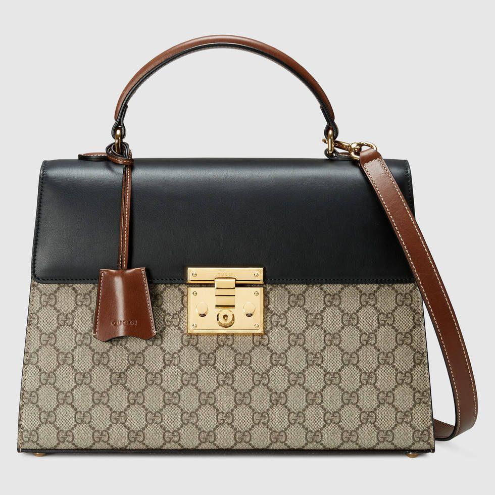 6206ab994993 Gucci Padlock GG Supreme top handle bag