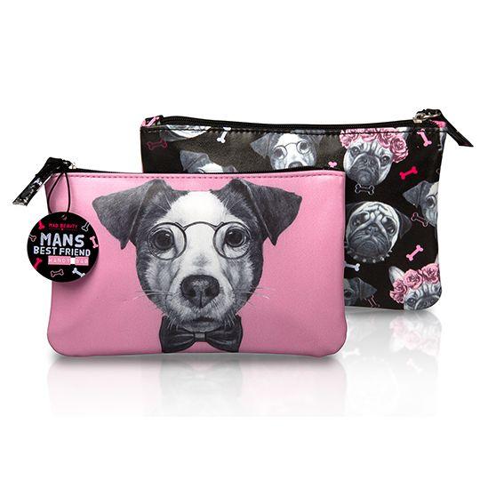 Pink Mad Beauty Dogs Handy Bag Jack Rus Edsfashions Handbags Uklas