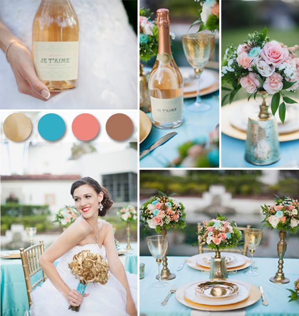 Trending Gold Wedding Color Ideas and Invitations for Your Big Day ...