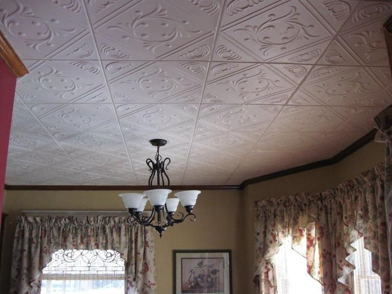 "How To Install Decorative Ceiling Tiles Diamond Wreath  Styrofoam Ceiling Tile  20""x20""  #r02"