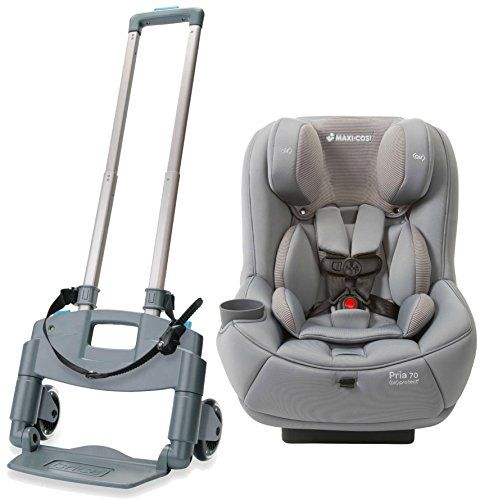 Maxi Cosi Pria 70 Convertible Car Seat With Roll N Go Transporter