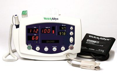 Welch Allyn Vital Signs Monitor 300 Series, Nibp And Masimo Pulse