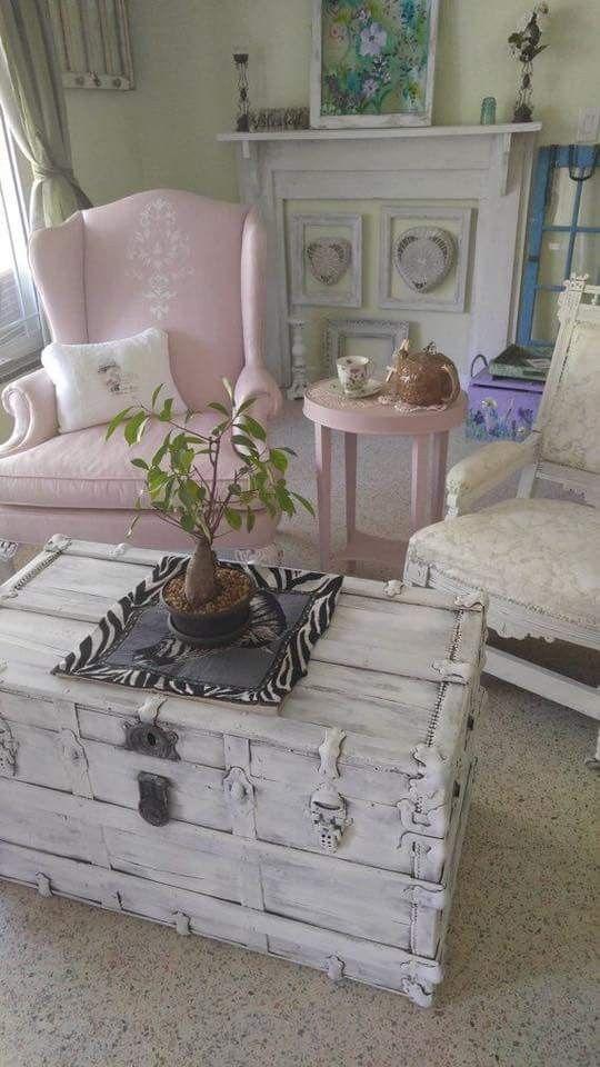amazing einfache dekoration und mobel sitzgelegenheiten im landhausstil #2: Pin von Becky Cook auf My Shabbiness | Pinterest | Wohnen, Deko und Häuschen