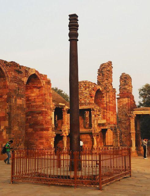evenfewergoats: Mehrauli: Qutb Minar Complex   Historical ...