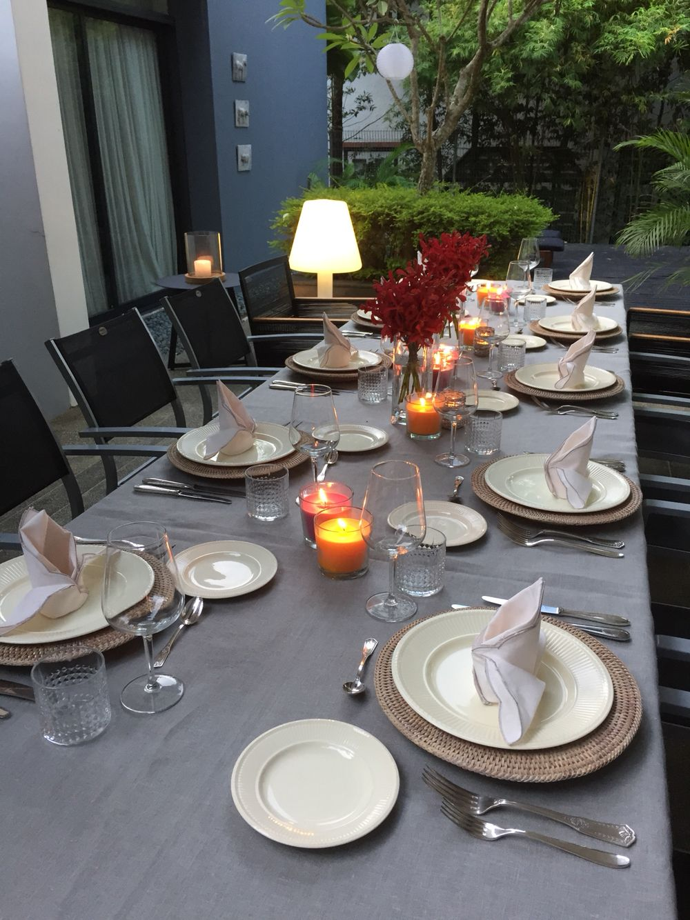 Cosy Outdoor Fine Dining Dining Table Decor Dining Table Fine Dining