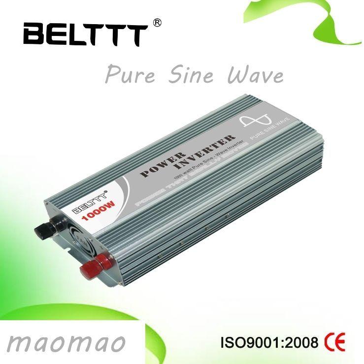 Power Inverter DC 12V to AC 220V Pure Sine Wave Inverter 1000W Off ...