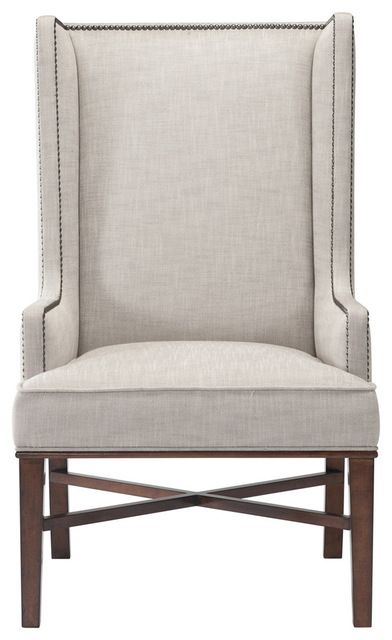 Jacqueline Hostess Wing Back Occasional Dining Arm Chair Modern Dining  Chairs And Benches
