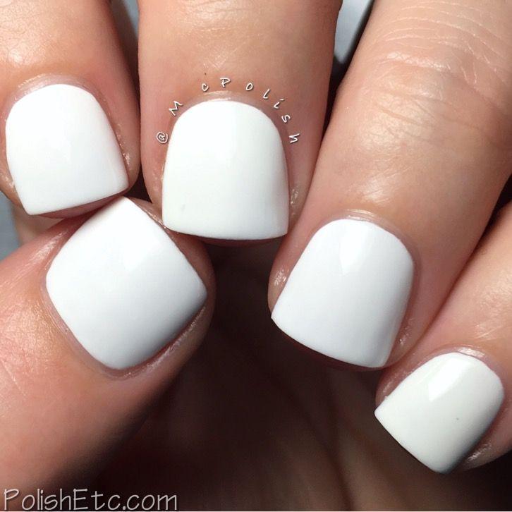 Kiara Sky Nail Lacquer - McPolish - Pure White   Makeup and ...