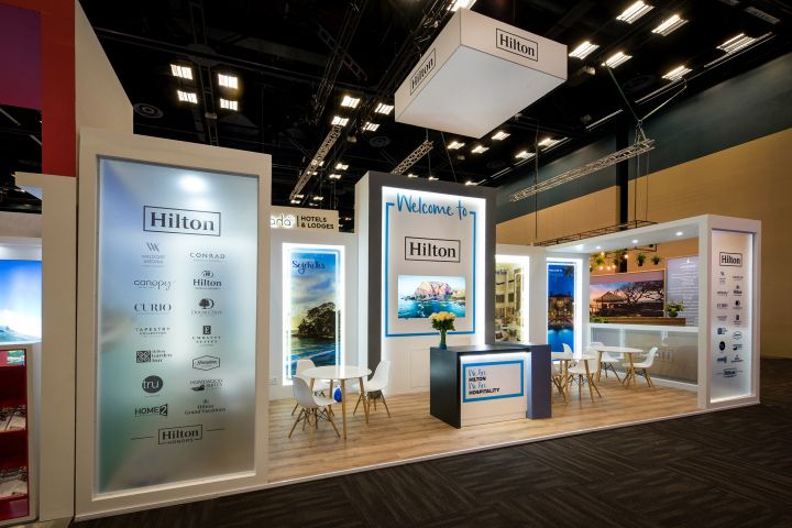 Expo Stands Durban : Hilton stand at tourism indaba by whaam concepts durban