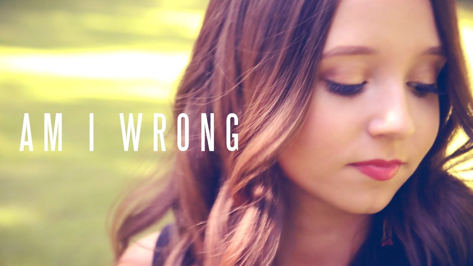 Am I Wrong - Nico and Vinz (Official Video Cover by Ali Brustofski) She is awesome