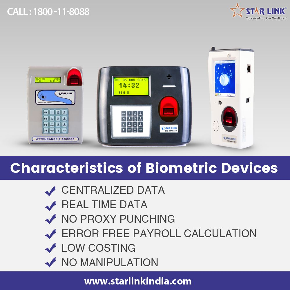 Starlink indua offers an amazing line of #Biometric Devices ranging
