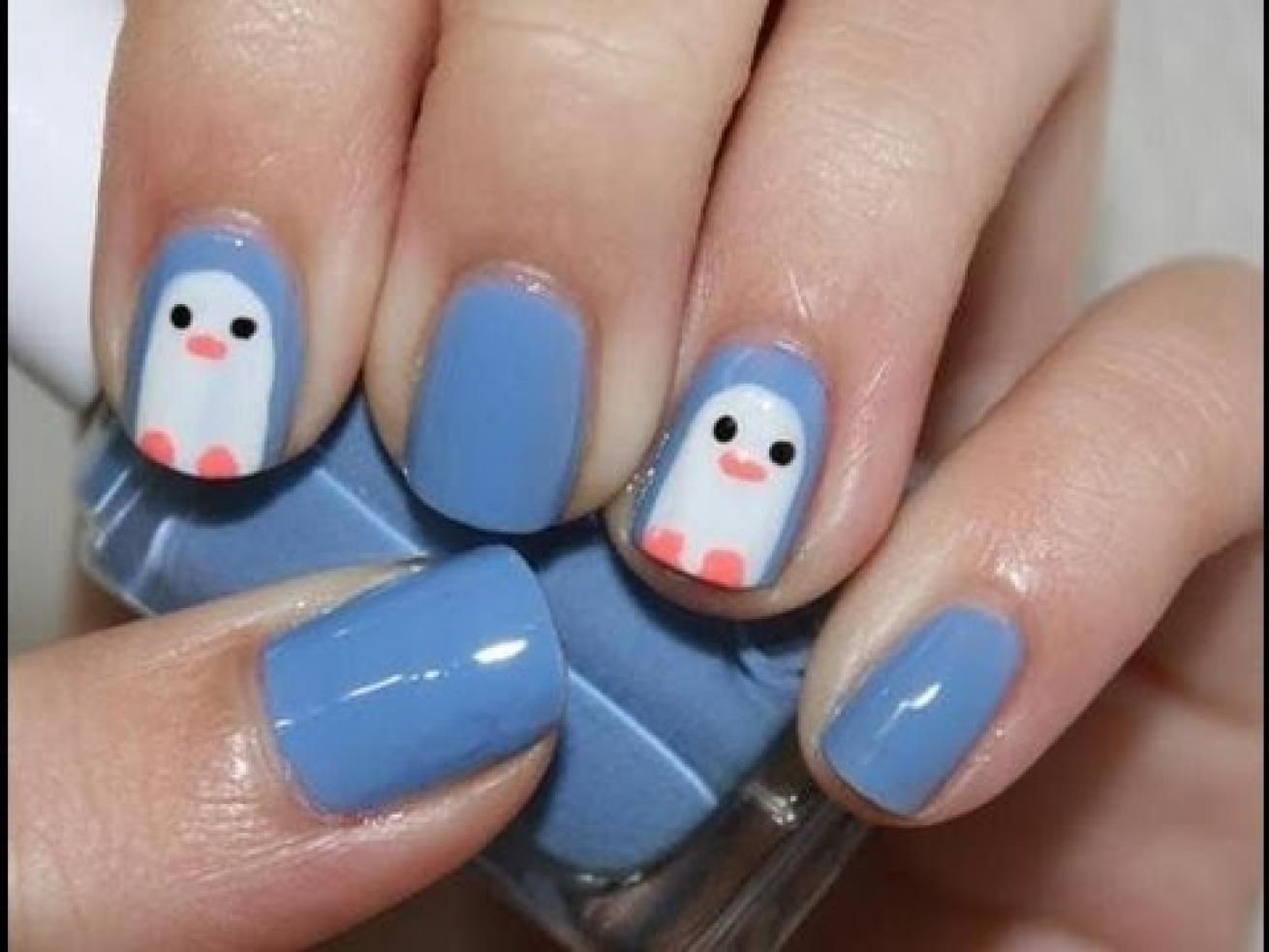 Pin by Rebecca Schauer on Nailed it | Pinterest | Penguin nail art ...