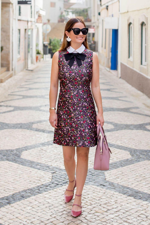 dc4f047ee Kate Spade Boho Floral Jacquard Dress in Portugal