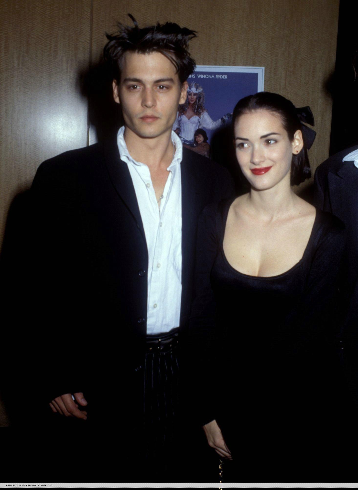 Fashion Grunge Style Johnny Depp And Winona Johnny Depp Winona Ryder Johnny Depp And Amber