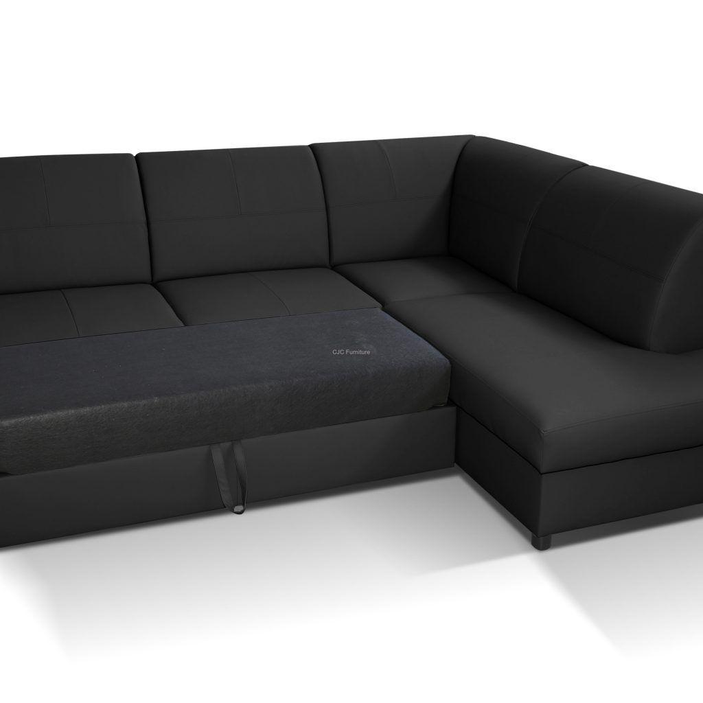 Small Black Corner Sofa Bed