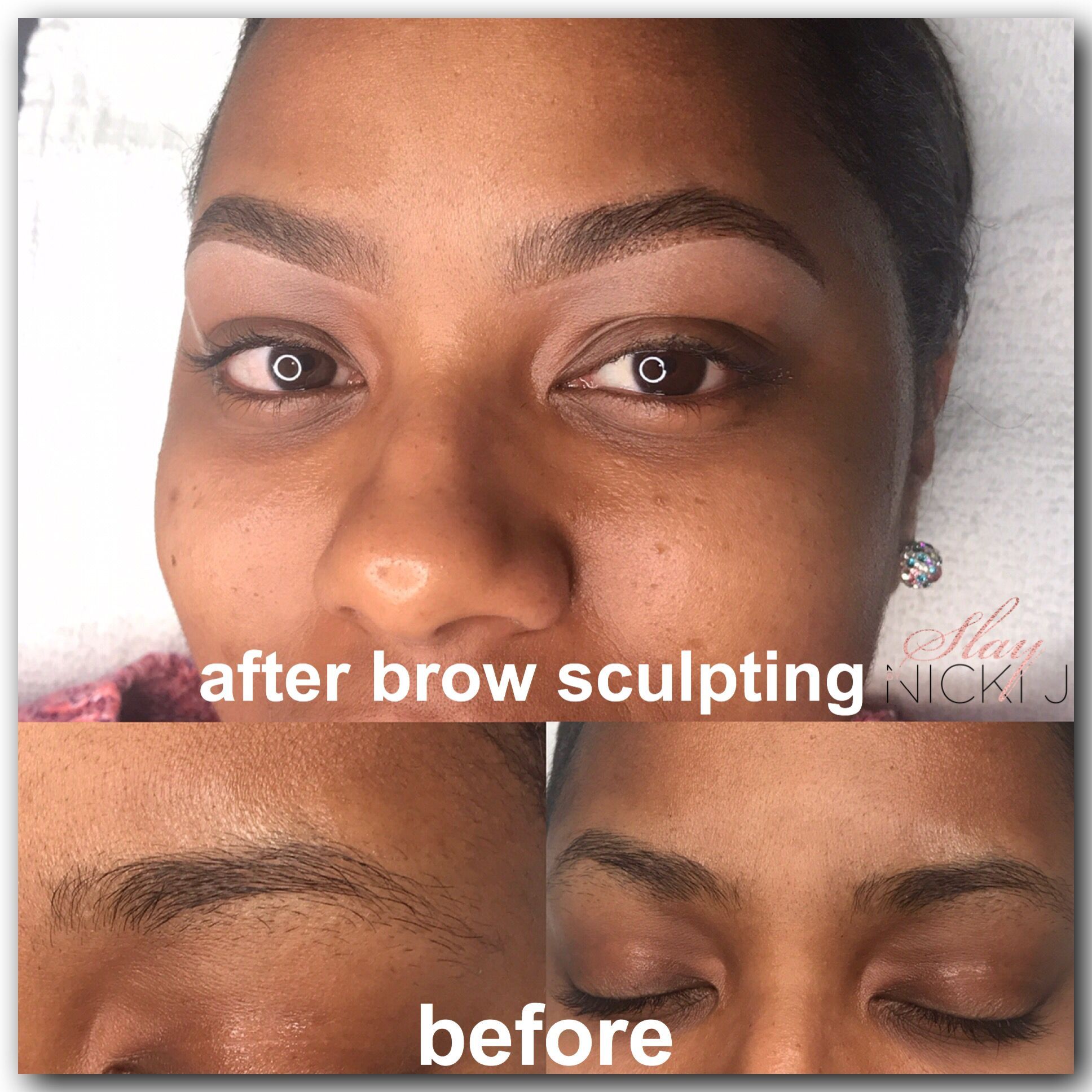 Amazing before and after! #brows #beauty #louisville # ...