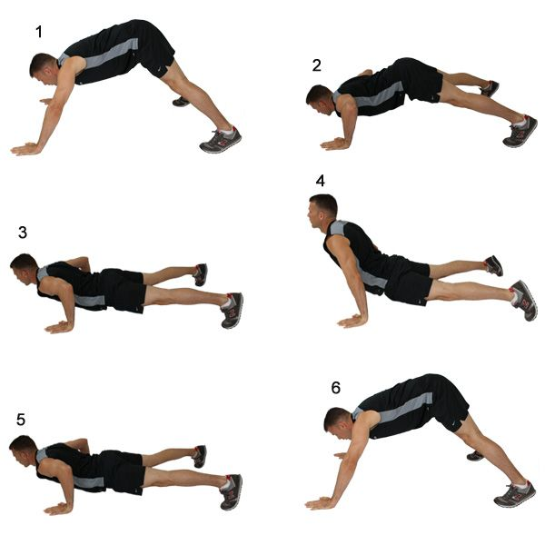 Divebomber pushup amazing exercise to put in your - Dive bomber push up ...