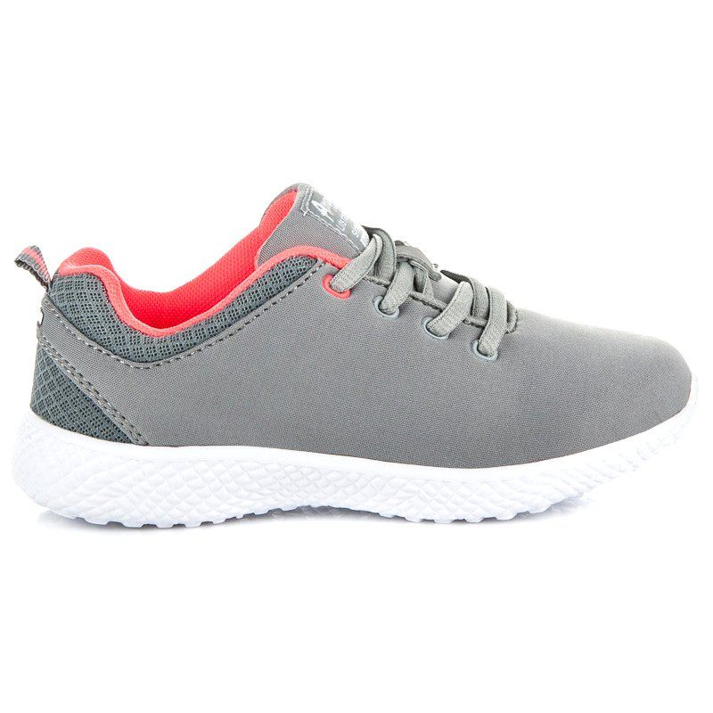 Buty Sportowe Dzieciece Dla Dzieci Americanclub Szare Wiazane Buciki Sportowe American Club Sneakers Nike Nike Free Shoes