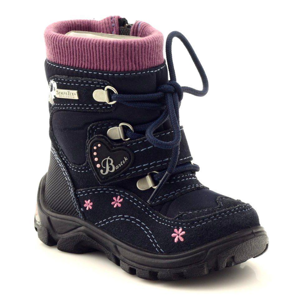 Trzewiki Z Membrana Bartek 11932 Granatowe Rozowe Wielokolorowe Niebieskie Fioletowe Czarne Boots Winter Boot Shoes