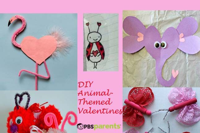 Animal Themed Valentine S Day Crafts Creative Crafts Crafts For