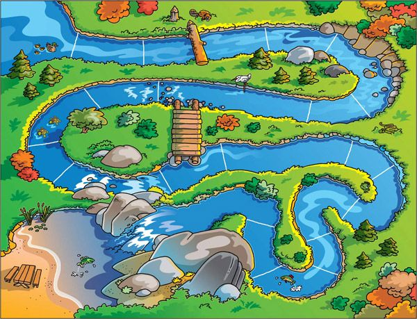 Game Board Google Search N Pinterest Game Boards Board - River game