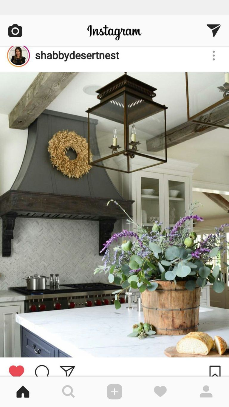 Best Farmhouse Kitchen Makeover Ideas You Will Love 10 | Pinterest