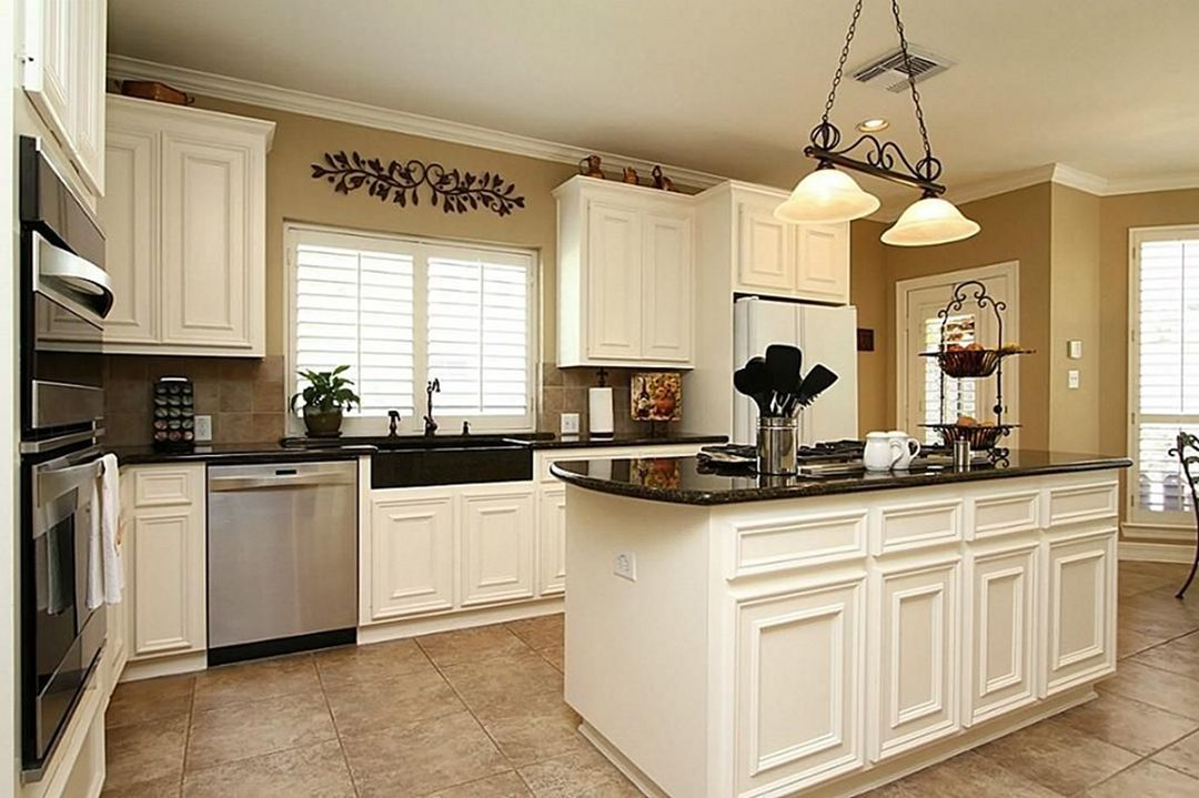 20 Awesome Tan Kitchen Cabinet Ideas If You Need A Gorgeous