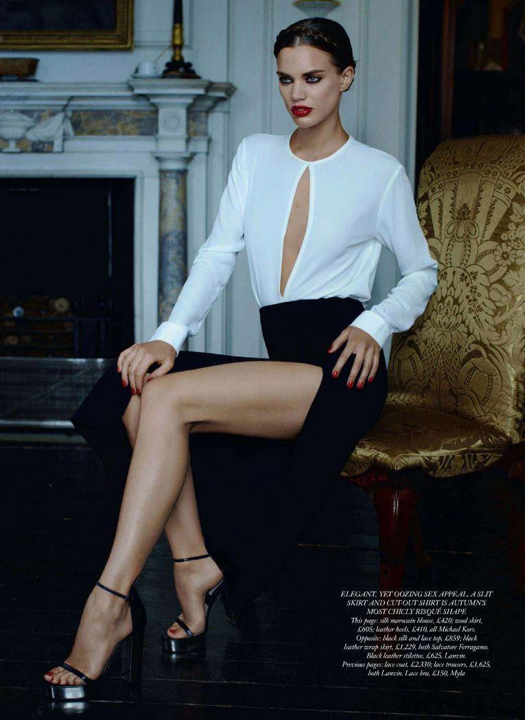155d777e1b7 Rianne ten Haken by Kacper Kasprzyk for Harper's Bazaar UK | .Posh + ...