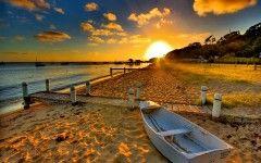 Sunset Beach Wallpaper Images