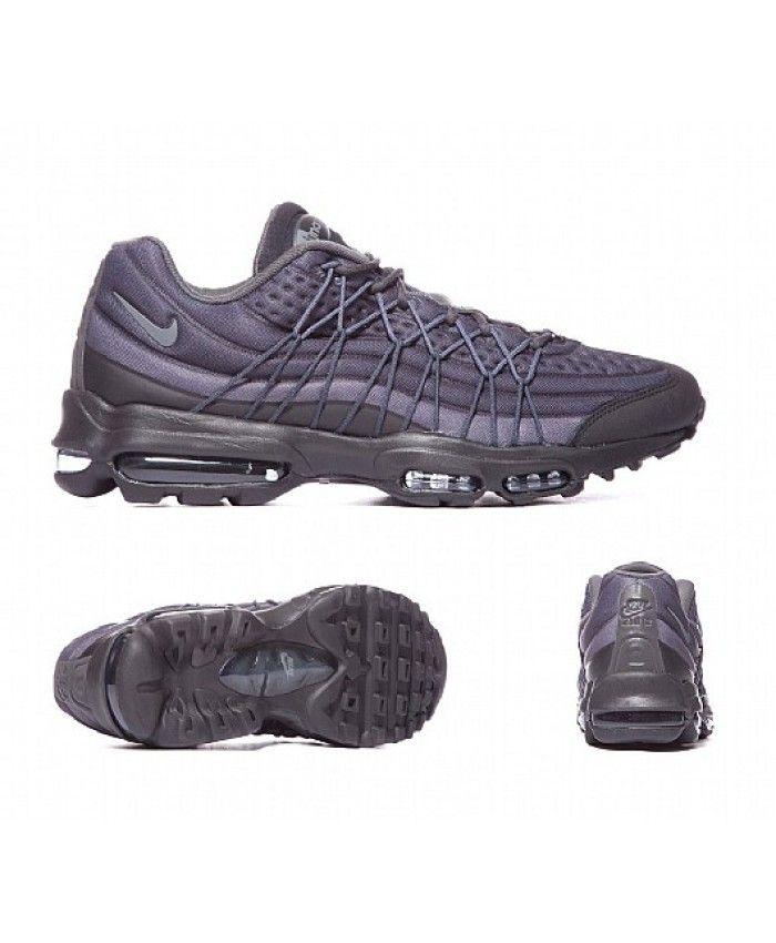 Nike Air Max 95 Ultra Essential Cargo Khaki Sneaker Bar