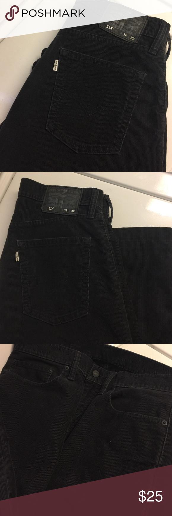 Men's Levi Corduroy's 32X32 Style 514 Size 32 x32 - no defects - New Condition Levi's Pants Corduroy